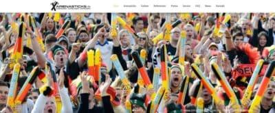 Relaunch arenasticks.de