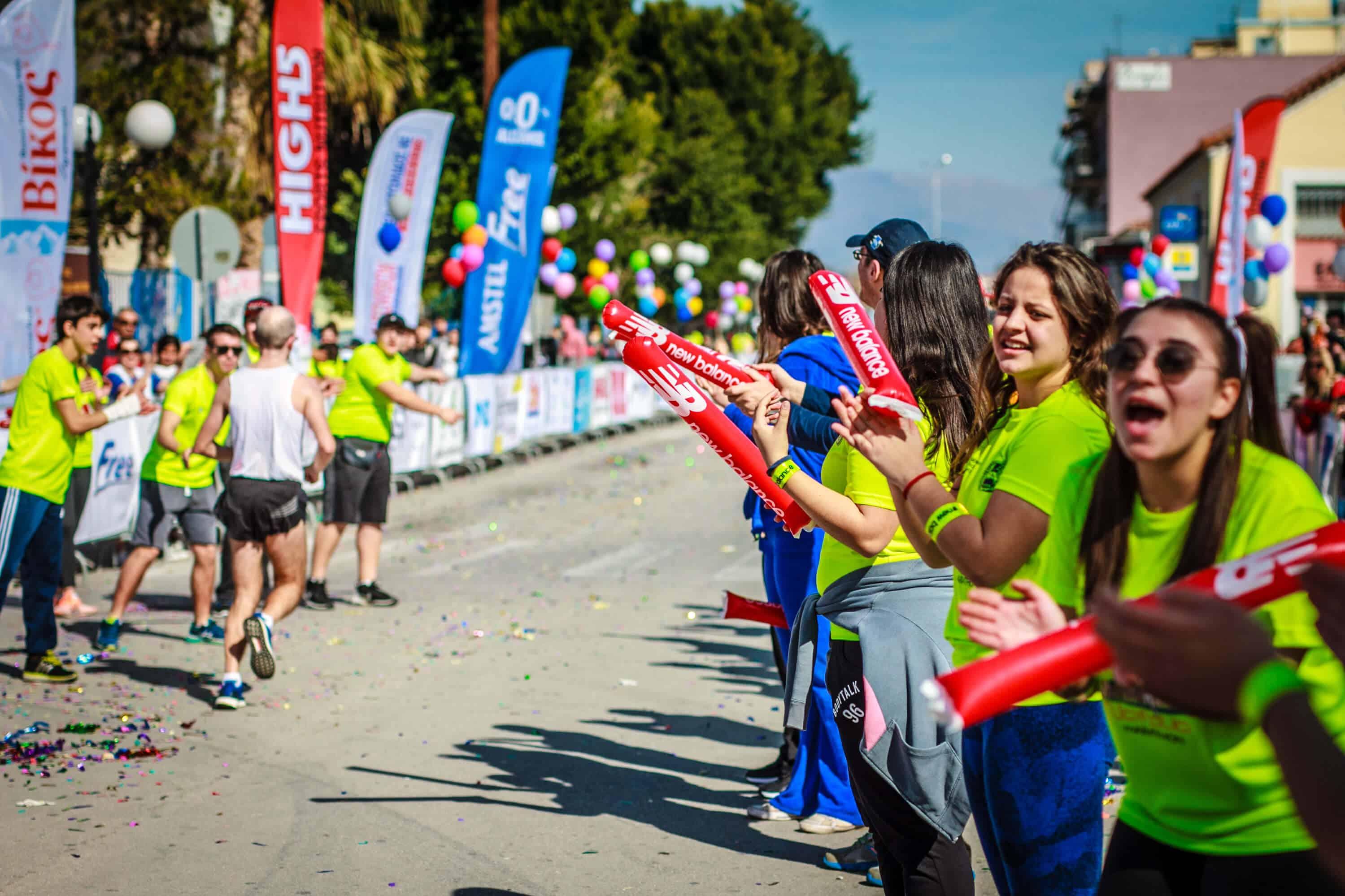 Klatschstangen Marathon